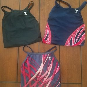 Bundle of TYR bathing suits